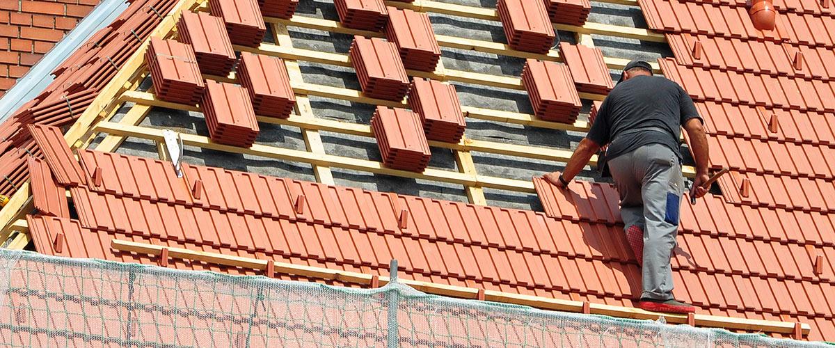 Dach wird renoviert